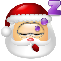Santa Claus Sleep icon
