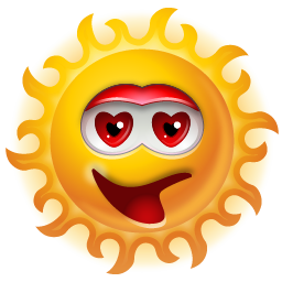 http://icons.iconarchive.com/icons/icons-land/multiple-smiley/256/Sun-Adore-icon.png