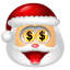 Santa Claus Money icon