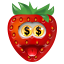 Strawberry Money icon