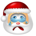Santa-Claus-Cry icon