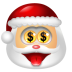 Santa-Claus-Money icon