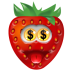 Strawberry-Money icon