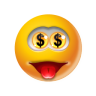 Emoticon-Money icon