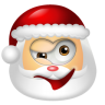 Santa-Claus-Wink icon