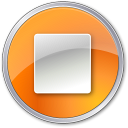 Stop-Normal-Orange icon