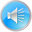 Volume-Pressed-Blue icon
