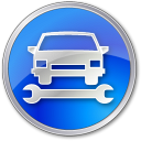 Car-Repair-Blue icon