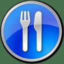 Restaurant-Blue icon