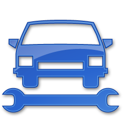 Car Repair Blue 2 Icon | Points Of Interest Iconset ...