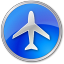 Airport-Blue icon