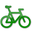 Bicycle Green 2 icon