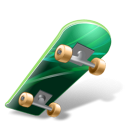Skateboard icon