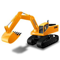 Excavator icon