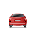 Car-Back-Red icon