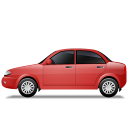 Car-Left-Red icon