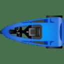 Pedicab Top Blue icon