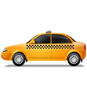 Taxi-Left-Yellow icon