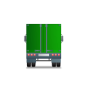 Truck Back Green icon