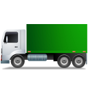 Truck Left Green icon