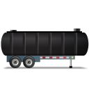 WasteTankerTrailer Right Black icon
