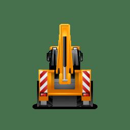 BackhoeLoader Back Yellow icon