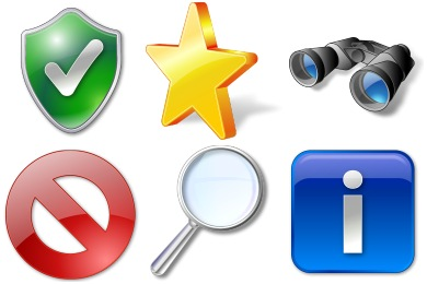 Vista Elements Icons