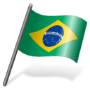 Brazil Flag 3 icon