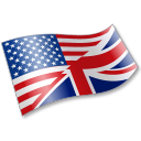 English Language Flag 2 icon