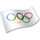 International Olympic Committee Flag 2 icon