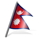 Nepal Flag 3 icon
