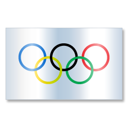 International Olympic Committee Flag 1 icon