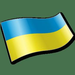 Ukraine Flag 2 icon