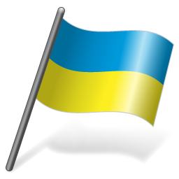 Ukraine Flag 3 icon