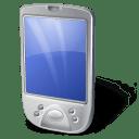 PDA White icon