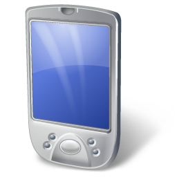 PDA White icon