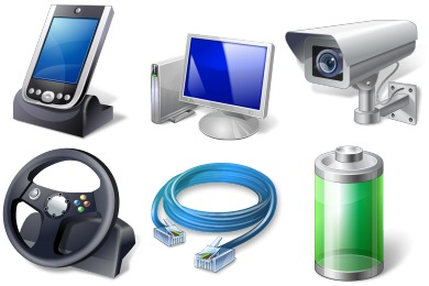 Vista Hardware Devices Icons