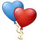 Balloons Hearts icon