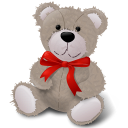 TeddyBear RedRibbon icon