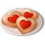 Cookies-Hearts icon