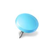 Map-Marker-Drawing-Pin-Right-Azure icon