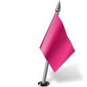 Map-Marker-Flag-2-Right-Pink icon