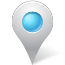 Map Marker Marker Inside Azure icon