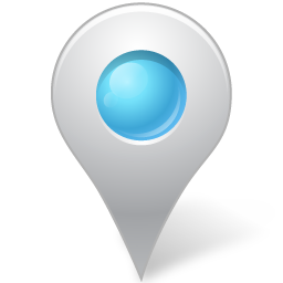 Map Marker Marker Inside Azure Icon Vista Map Markers