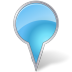 Map-Marker-Bubble-Azure icon
