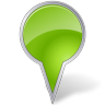 Map-Marker-Bubble-Chartreuse icon