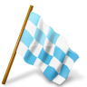 Map-Marker-Chequered-Flag-Right-Azure icon