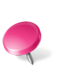 Map-Marker-Drawing-Pin-Left-Pink icon