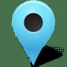 Map-Marker-Marker-Outside-Azure icon