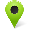 Map-Marker-Marker-Outside-Chartreuse icon